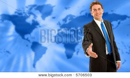 World Wide Business Man