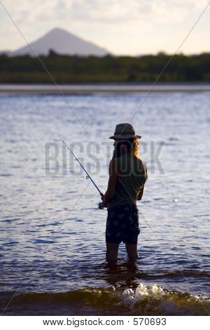 Noosa River Fishing