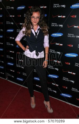 Lauren C. Mayhew at the Samsung Galaxy Tablet 10.1 Launch Event, The Beverly, Beverly Hills, CA 08-02-11