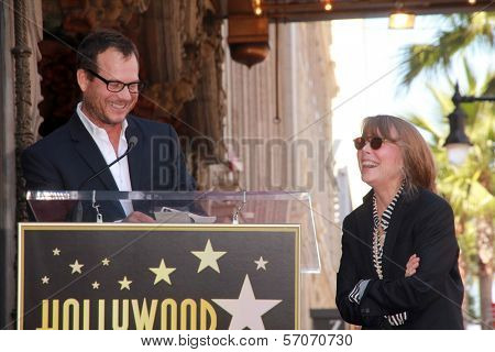 Bill Paxton, Sissy Spacek at Sissy Spacek's induction into the Hollywood Walk of Fame, Hollywood Blvd, Hollywood, CA. 08-01-11