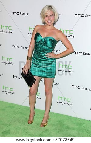 Brea Grant at the HTC Status Social, Paramount Studios, Hollywood, CA. 07-19-11