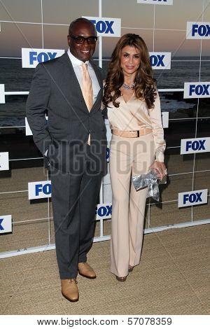 L.A. Reid, Paula Abdul at the FOX All Star Party 2011, Gladstones, Malibu, CA. 08-05-11