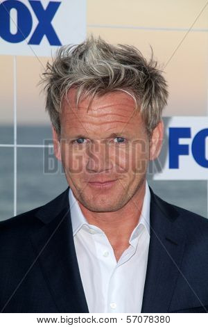Gordon Ramsay at the FOX All Star Party 2011, Gladstones, Malibu, CA. 08-05-11