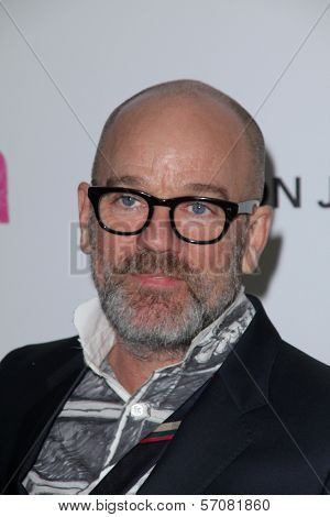 Michael Stipe at the 19th Annual Elton John Aids Foundation Academy Awards Viewing Party, Pacific Design Center, West Hollywood, CA. 02-27-11