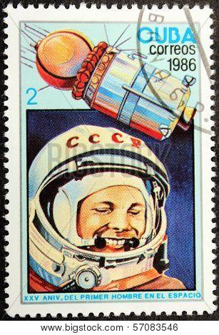 Yuri Gagarin 1986