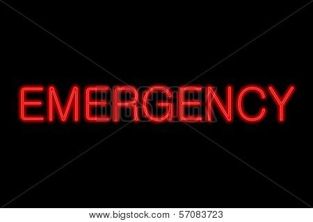 Neon Sign Emergency