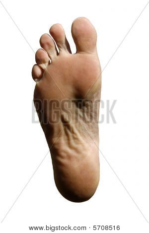 Sole Of Male Right Foot