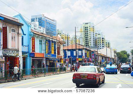 Indian Quarter In Singapore