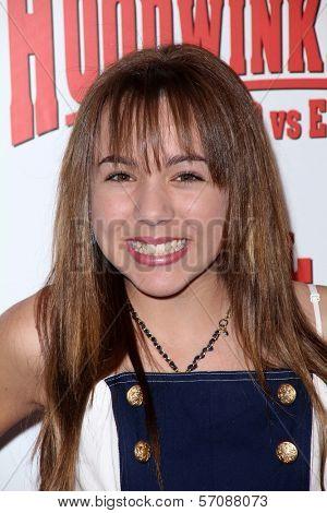 Camryn Molinar at the