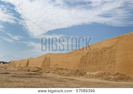 Peru, Chan Chan Ruins Near Trujillo