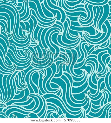 Seamless Wave Pattern.