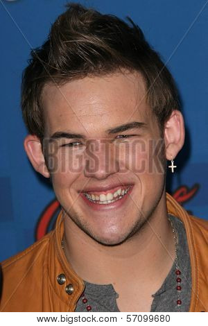 James Durbin at the American Idol Season 10 Top 13 Finalists Party, The Grove, Los Angeles, CA. 03-03-11