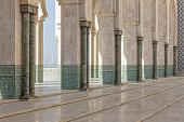 Mosque Hassan II in Casablanca Morocco