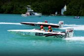 image of argo  - this is a 19 phantom and 19 argo racing in bermuda at the annual and famous  - JPG