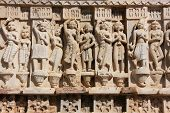 Decorative Carving, Jagdish Temple, Udaipur, India