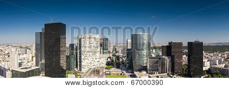 Financial District, La Defense, Paris