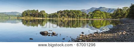 Derwent Water, Lake District, Uk