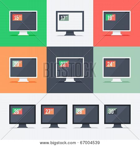 Responsive Web Design On Different Monitors