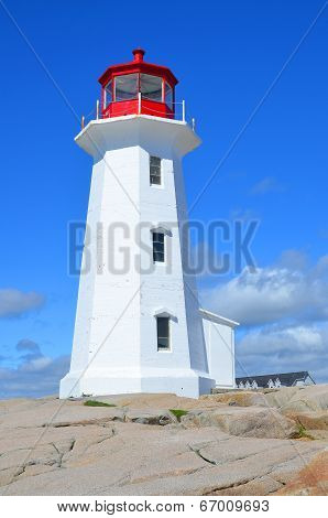he lighthouse of Peggy's Cove
