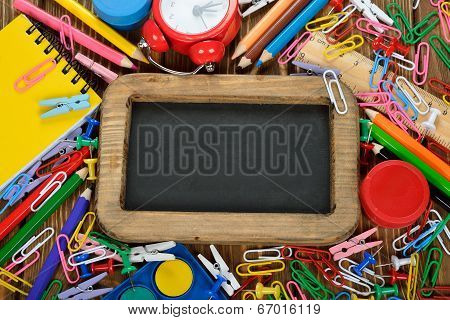 Writing Board And Pencils