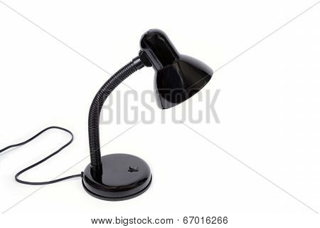 Black Electric Reading Lamp.