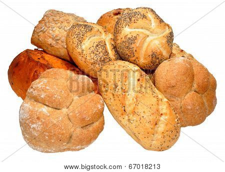 Group Of Bread Products