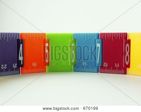 Kids Colourful Ruler