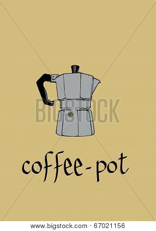 Classic coffee-pot