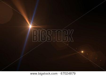 Warm Digital Lens Flare