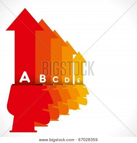 creative business people info-graphics concept vector