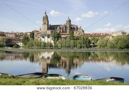 Salamanca's cathedrals ,Spain