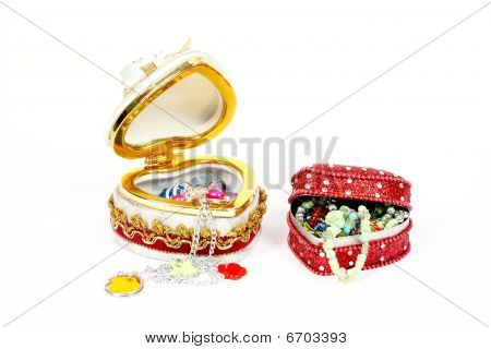 Gift Box Of Toy Jewelry
