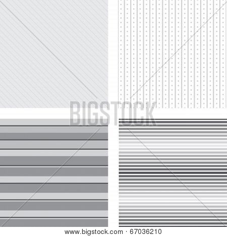 Grey Striped Backgrounds