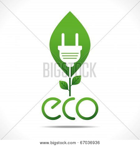 green energy or eco-friendly concept