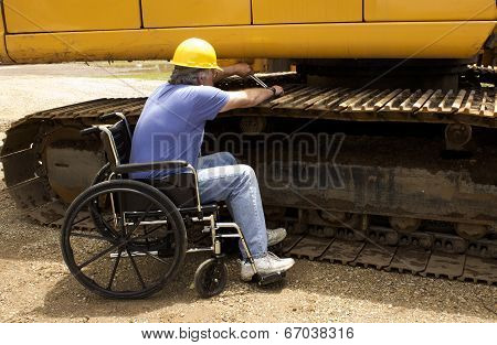 Disabled Mechanic