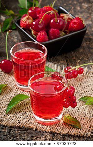 Juice of berries