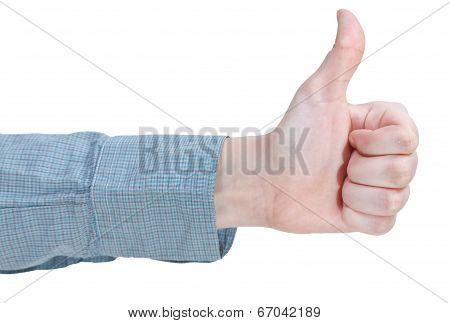 Hitchhiking - Hand Gesture