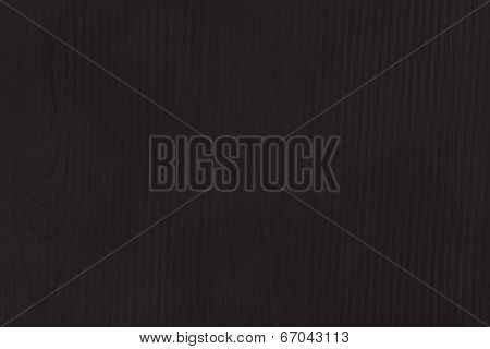 Dark Black Wood Texture Background With Copyspace
