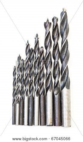 Set Of Drill Bits