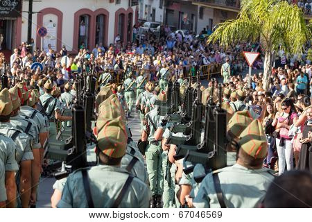 Spanish Legionnaires Marching