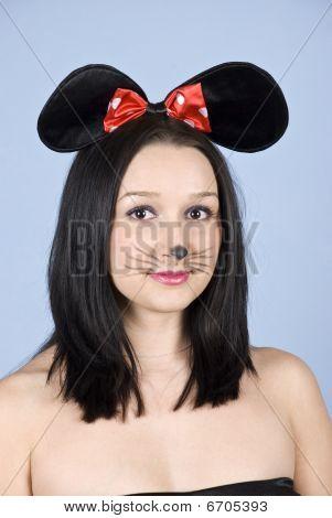 Portrait Of Woman Mouse