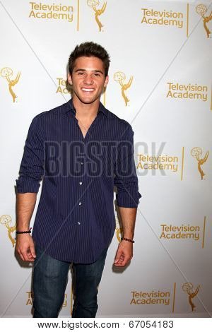 LOS ANGELES - JUN 19:  Casey Moss at the ATAS Daytime Emmy Nominees Reception at the London Hotel on June 19, 2014 in West Hollywood, CA