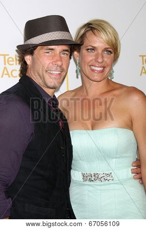 LOS ANGELES - JUN 19:  Shawn Christian, Arianne Zucker at the ATAS Daytime Emmy Nominees Reception at the London Hotel on June 19, 2014 in West Hollywood, CA