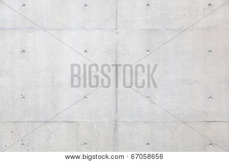 Grungy and smooth bare concrete wall background