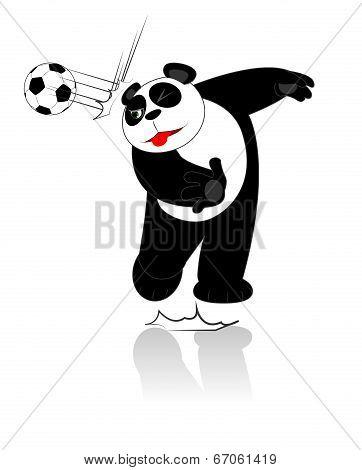 Panda Soccer Style