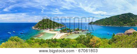 Nangyuan Island, Suratthani, Southern Of Thailand