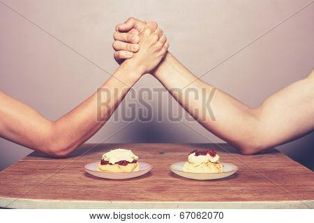 Cream Tea Rivalry