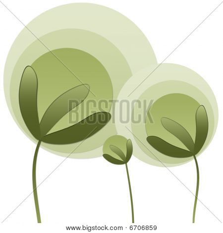 Abstract plants