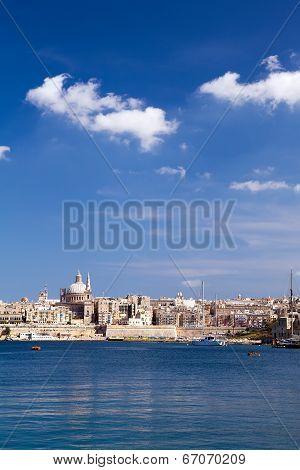 Marsamxett Harbour, Valletta, Malta
