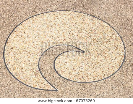 Background Surface Of Terrazzo Floo